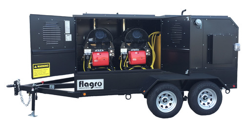 Self Contained Heater Trailer